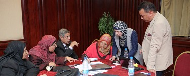 The Greater Cairo Pilot – Widening communities of practice to provide better communication opportunities